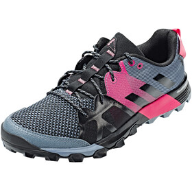 adidas Kanadia 8.1 Trail Shoes Women raw steel/off white/real pink